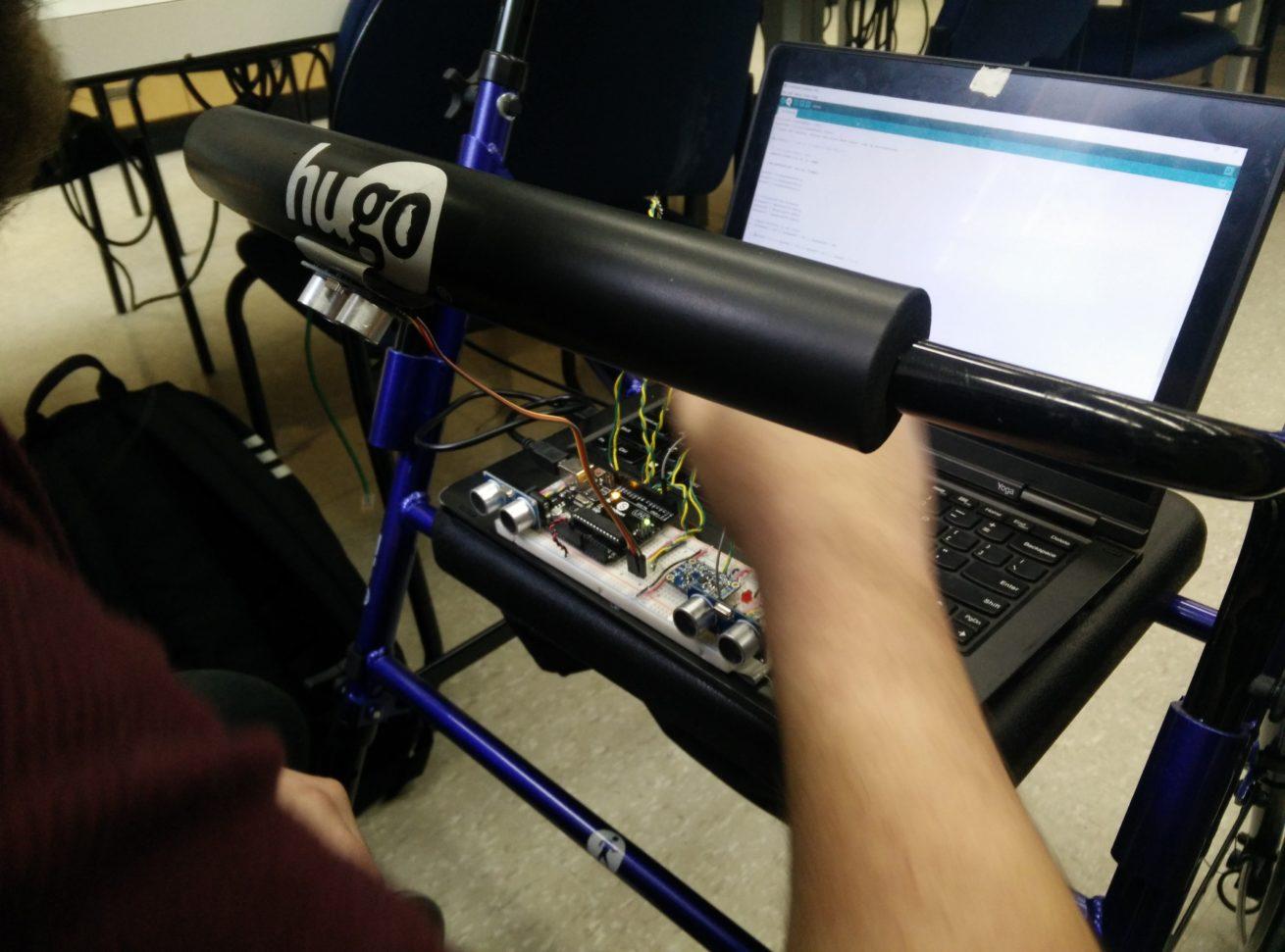 2. Experimental setup to test IMU