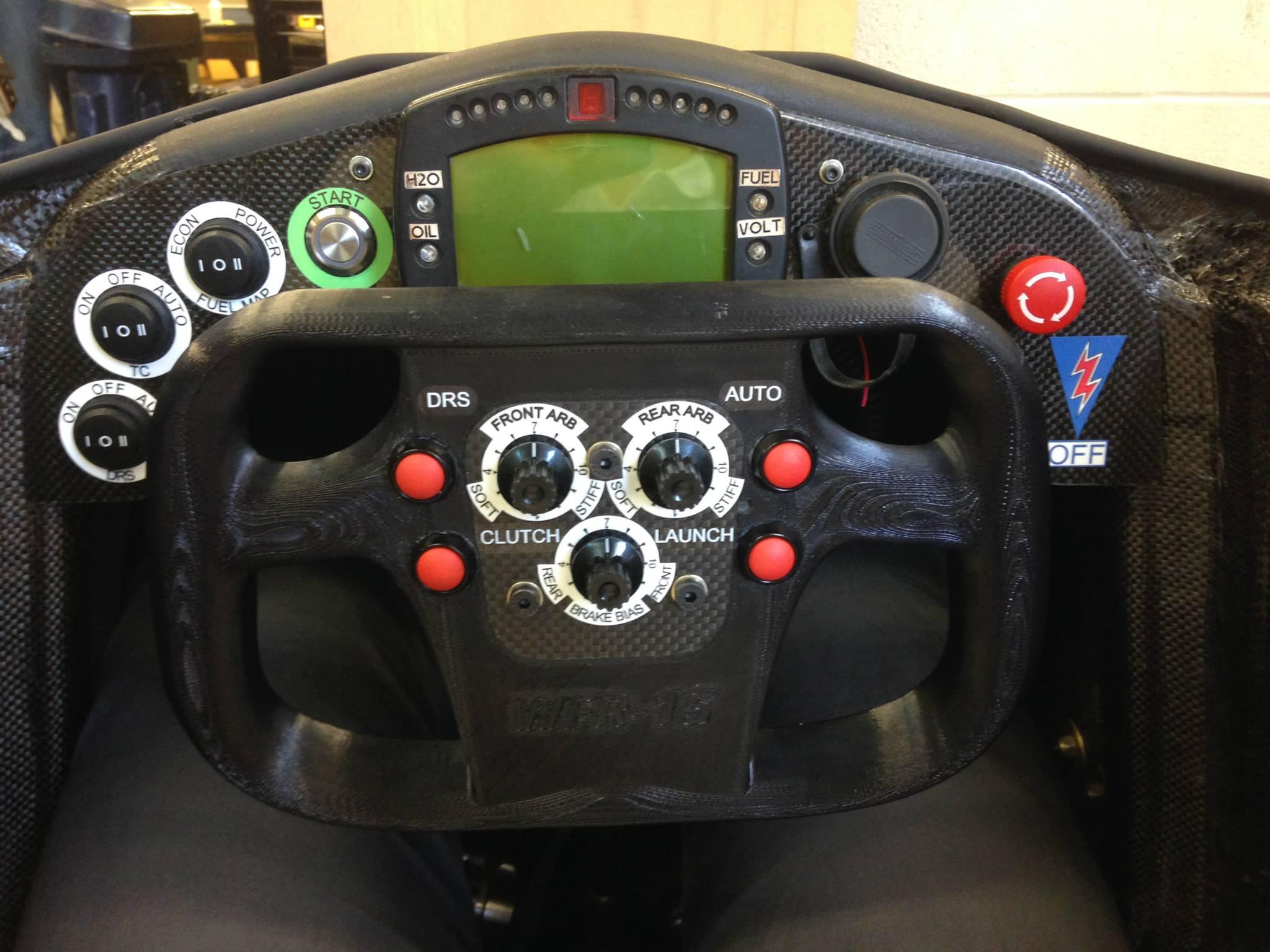 Fsae Steering Wheel Sameh Khan