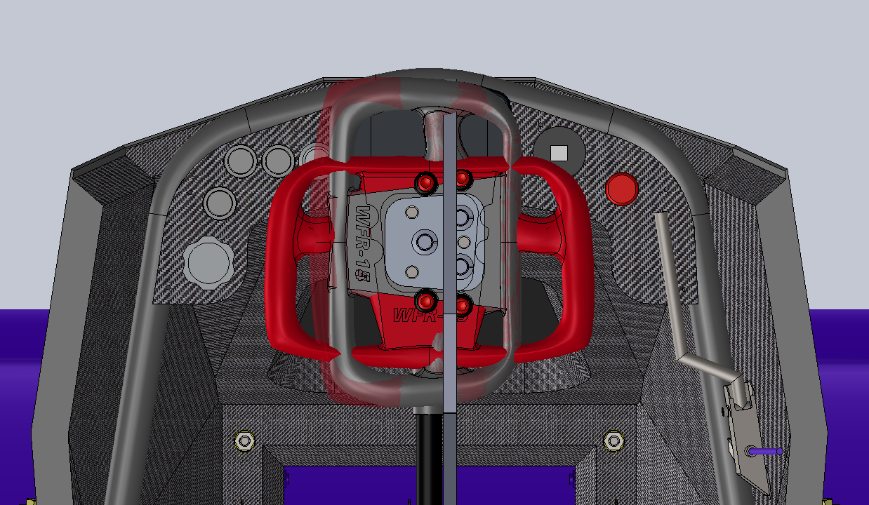 CAD Design   Full lock clearance check