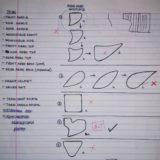 Selection diagram of endplate geometry